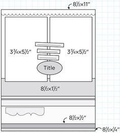 Scrapbook Page Sketch 440