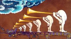 Butt trumpets. -- Just what I needed!@>>> This is from Monty python and the holy grail.