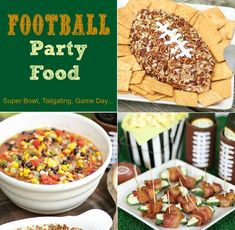 #football #party food