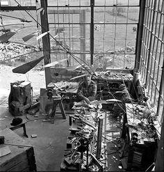 Calder Studio 1941  Photo: Herbert Matter