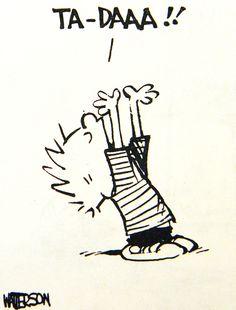 Calvin and Hobbes, Ta-Daaa!!
