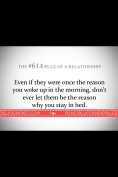 Relationship Rules Quotes, Relationships, Stay In Bed, Jealousy, Wake Up, Let It Be, Thoughts, Motivation, Feelings