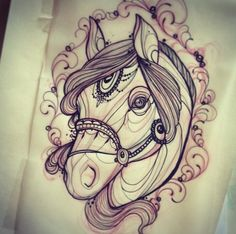 Miss Juliet - Parma, Italy If i ever get a tattoo for my mom.. it would be something with a horse i think.