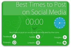 The best times to post on social media 3eb76318a4496