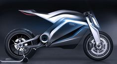 Audi Shows Very Cool Motorcycle Concept.
