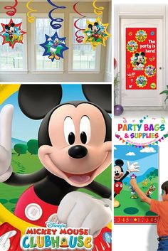Mickey Clubhouse party ware! Hot Diggity Dog! We have LOADS of official Disney Mickey Mouse and Mickey Mouse Clubhouse themed party supplies for children of all ages! A great selection of filled party bags, bumper party packs, tableware, decorations, confetti, balloons, party bag toys and fillers, pinatas and party games, and much much more, all at the best prices. To see the full range, click here - https://www.partybagsandsupplies.co.uk/themes/mickey-mouse-party