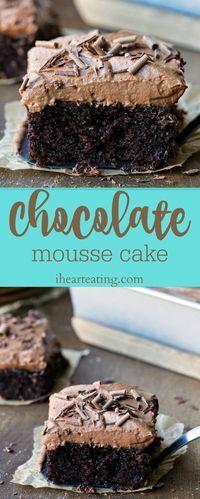 Chocolate Mousse Cake Recipe