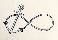 Obsessed. So if I made the anchor more of cross this is the tattoo I want!!!!!