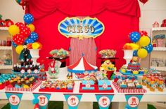 Circus Birthday Party via Kara's Party Ideas | KarasPartyIdeas.com #circus #carnival #birthday #party #ideas (2)