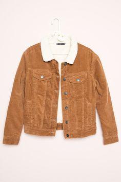 Brandy ♥ Melville | Shaine Corduroy Jacket - Jackets - Outerwear - Clothing