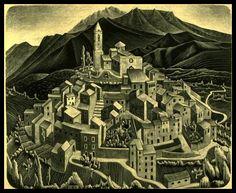 Alex Webb & M. C. Escher | Adam Marelli Photo