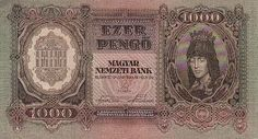 1000 Pengo from Hungary 1943 AU Bank Check, Notes Design, Old Photos, Vintage World Maps, Prints, Ebay, Childhood, Memories, Country
