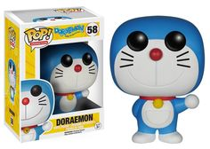 The gadget cat from the future gets the Pop! Vinyl treatment! This Doraemon Pop! Vinyl Figure features the main character from the hit anime. Standing about 3 3/4-inches tall, this figure comes in win