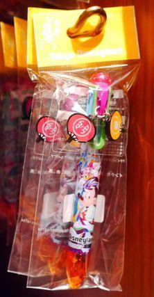 ディズニー 夏祭り 彩涼華舞 2016 ミッキー 6色ボールペン TDL