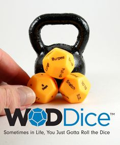 Developed in Salem, Oregon, by PhysEd founder Ed Weamer, the WODDice® bring an unpredictable—but fundamentally sound—new dynamic to your training program. The best way to test your actual GPP is to se