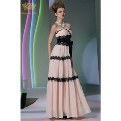 Fashion Prom Dresses Long Simple Style Sweetheart Formal Evening Dresses 2014 with Bowknot PK30965