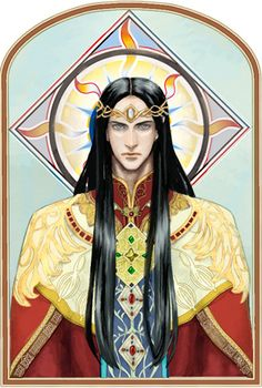 Two Princes:Feanor by ~daLomacchi on deviantART