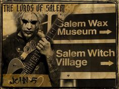 John 5 Lords of Salem The Lords Of Salem, John 5, Wax Museum, Rob Zombie, Witch, Band, Metal, Parrots, Concerts