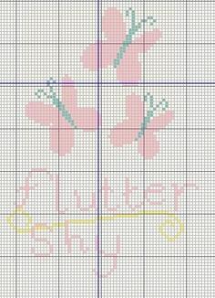 Flutter Sly - My little Pony Cutie Mark cross stitch