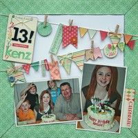 A Project by marthasdaughter from our Scrapbooking Gallery originally submitted 08/01/12 at 09:12 AM