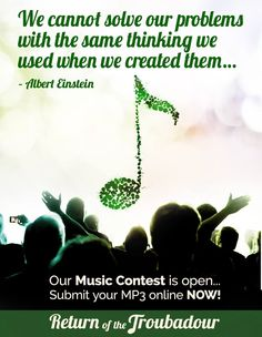 Return of the Troubadour Albert Einstein, Change The World, Songs, Music, Musica, Musik, Muziek, Song Books, Music Activities