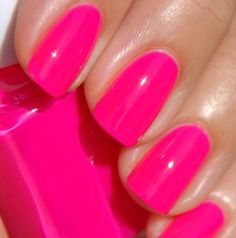 Essie's Short Shorts ... my perfect pink!