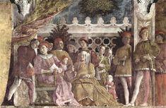 Andrea Mantegna | La Camera degli Sposi, 1465-1474 | Art in Detail | Tutt'Art@ | Pittura * Scultura * Poesia * Musica |