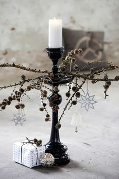 kaarsenstandaard - kerstsfeer - candle holder - scandinavian home - House Doctor - xmas