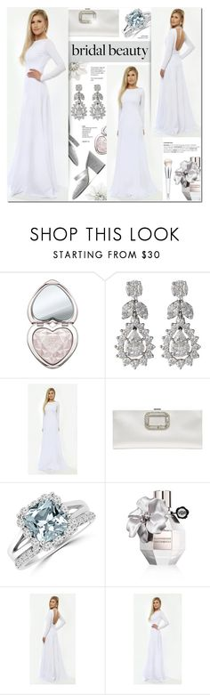 """DesirVale 24"" by anyasdesigns ❤ liked on Polyvore featuring Too Faced Cosmetics, Diamond Scene, Roger Vivier, Viktor & Rolf and Clinique"