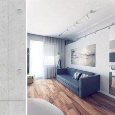 стиле однокомнатной в квартиры проект лофт  студии