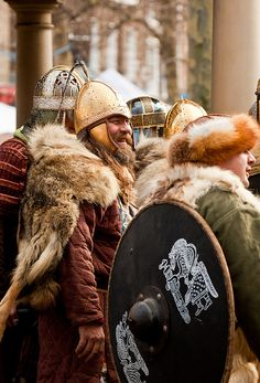 Boys club. (Jorvik Viking Festival 2012)