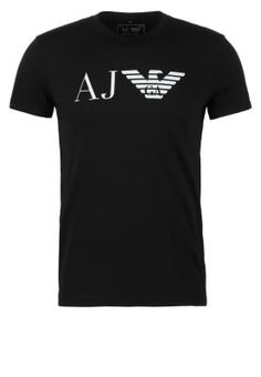 b3f4d4c568d Köp Armani Jeans T-shirt med tryck - black för 599,00 kr (