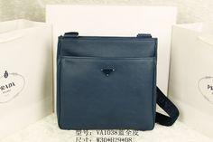 Replica Prada Quality 1:1 Dark Blue Leather Famous Brand Handbags, Shoulder Bags, Designer Hangbag, Mens Famous Brand Handbags