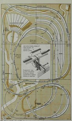 101 track plans for model railroaders by Nen Nen - issuu Ho Scale Train Layout, Ho Train Layouts, Train Miniature, Escala Ho, Model Railway Track Plans, N Scale Model Trains, Ho Trains, Planer, How To Plan