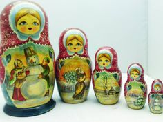 Matryoshka dolls - Russian Stacking or Nesting Dolls; tattoo i will be getting for my granny