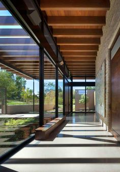 Residential Architecture, Contemporary Architecture, Interior Architecture, Pavilion Architecture, Organic Architecture, Contemporary Houses, Japanese Architecture, Home Interior Design, Interior And Exterior