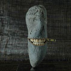 Extrañas esculturas con piedras