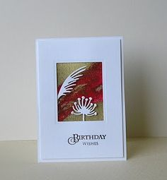 Cards from Lynne`s Loft: Simply Less is More # 122