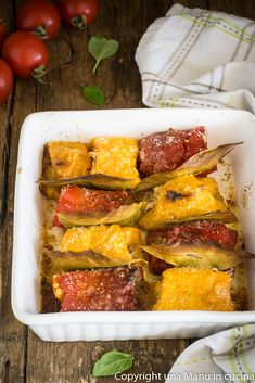 Peperoni a beccafico - Una Manu in cucina #sicily #foodphotography #ortaggi Potato Vegetable, Zucchini Lasagna, Italian Dishes, Antipasto, Kitchen Hacks, Wine Recipes, Buffet, Good Food, Food And Drink