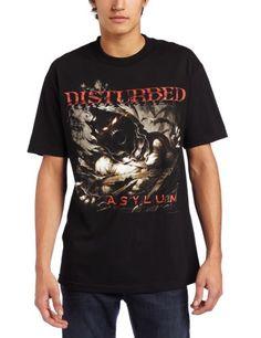 Bravado Men's Disturbed Asylum Shred Men's T-Shirt $17.95 (save $1.04)