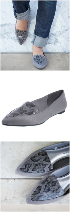 4992cc927e3 Go for a chic casual fall look with the Georgie flat from  csiriano. Women s