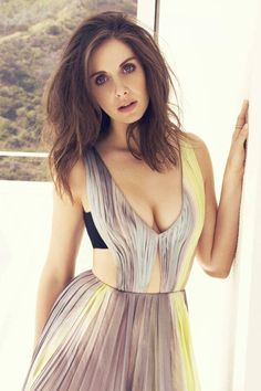 Alison Brie • New York Post March 2016