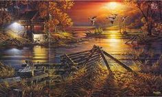Terry Redlin- not sure of the name of this one.