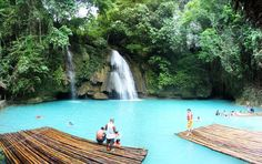 Kawasan Falls, The Philippines The Philippines has some of the most beautiful places in the world.
