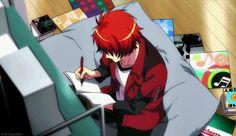 "Uta no Prince Sama Ittoki Otoya ""Wait... What should I write about?"""