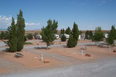 Meteor Crater RV Park… enjoy the open country of Northern Arizona, beautiful sunsets and starry nights as well as an amazing view of the San Francisco Peaks. Secure, quiet, large pull-through sites, dog friendly and great reviews too!  #RVPark #Arizona #RVing #RV #camping #campground