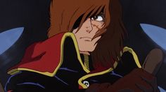 Albator / Captain Harlock 「キャプテン・ハーロック」 - Illustration « L'Atlantis de ma Jeunesse » / Waga Seishun no Arcadia 「わが青春のアルカディア」 / Arcadia of My Youth (1982)
