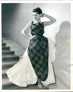 1949 - Schiaparelli evening dress