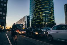 Hitchhiking from Dijon to Berlin and back. One way Urban landscapes, streets, food markets, nightscapes, lights and shadows. Berlin, Urban Landscape, Light And Shadow, Times Square, Cities, Street, Blog, Photography, Travel