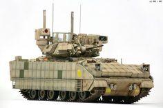 Army Vehicles, Armored Vehicles, Plastic Model Kits, Plastic Models, Bradley Ifv, Bradley Fighting Vehicle, Future Weapons, Model Tanks, Military Modelling